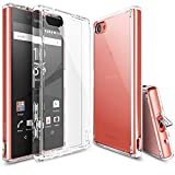 Ringke Fusion Compatible with Xperia Z5 Compact Case Clear
