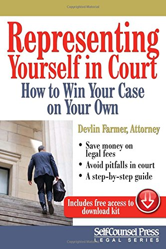 Compare Textbook Prices for Representing Yourself in Court US: How to Win Your Case on Your Own Legal Series 1st Edition Edition ISBN 9781770402263 by Farmer, Devlin