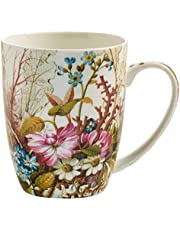 Maxwell & Williams Kilburn kaffekopp, porslin, flerfärgad, 12 x 8,5 x 10