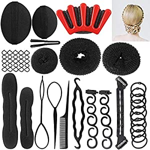 Beauty Shopping Hair Styling Accessories Kit Fashion Hair Design Styling Tools