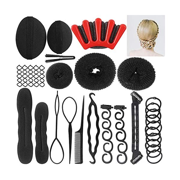 Beauty Shopping Hair Styling Accessories Kit Fashion Hair Design Styling Tools Magic Simple Fast