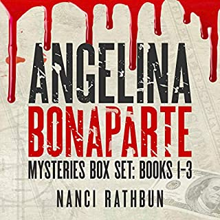 Angelina Bonaparte Mysteries Box Set: Books 1-3 audiobook cover art