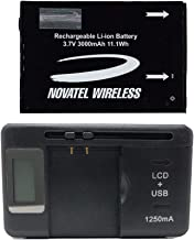 New 3000 mAh OEM Battery Novatel Jetpack MiFi 4620L/4620LE Mobile Hotspot - P/N: 40123112-001 in Non Retail Packaging Universal Battery Charger