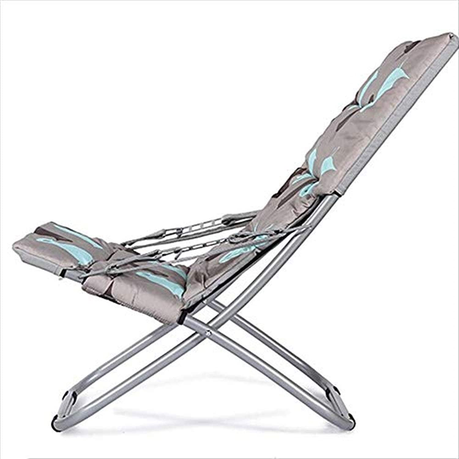Beach Chair, Portable Recliner Multi-Functional Breathable Easy to Install and Store Picnic Barbecue