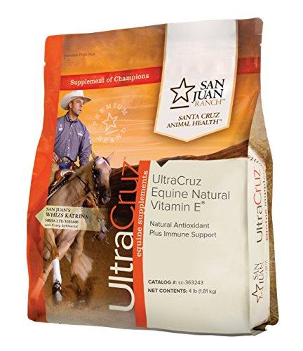 UltraCruz sc-363243 Equine Natural Vitamin E Supplement for Horses, 4 lb, Powder (158 Day Supply)