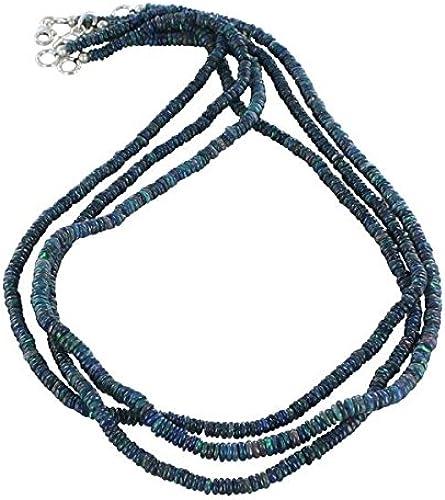 ahorre 60% de descuento ETHIOPIAN ETHIOPIAN ETHIOPIAN OPAL heshi PERLAS Multi azul 4 mm 16    la calidad primero los consumidores primero