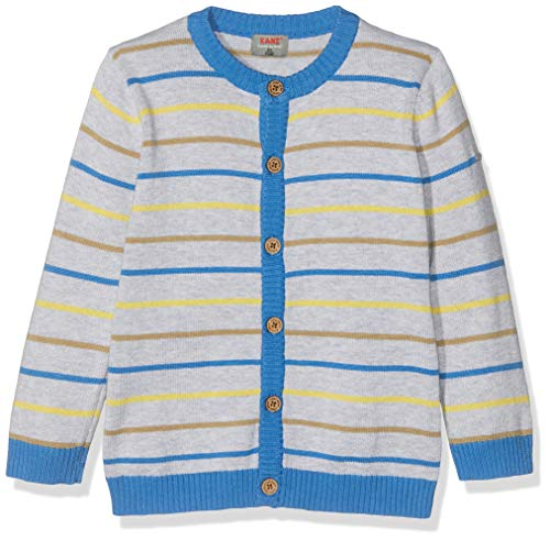 Kanz Baby-Jungen 1/1 Arm Strickjacke, Mehrfarbig (Y/D Stripe|Multicolored 0001), 92