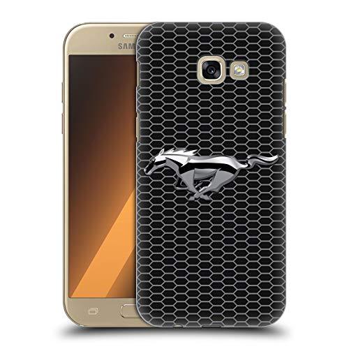 Head Case Designs Offizielle Ford Motor Company Grillen Mustang Logos Harte Rueckseiten Handyhülle Hülle Huelle kompatibel mit Samsung Galaxy A5 (2017)