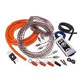 Memphis Audio 4GKIT / 17-4GKIT / 17-4GKIT 4 Gauge Amplifier Kit with RCA Cables