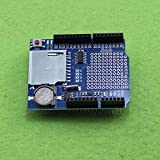 Quickbuying 10PCS Data Logger Module Logging Data Recorder Shield for Arduino UNO SD Card