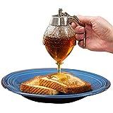 Dispensador de miel, tarro de miel, recipiente de miel, sin jarabe de goteo y...