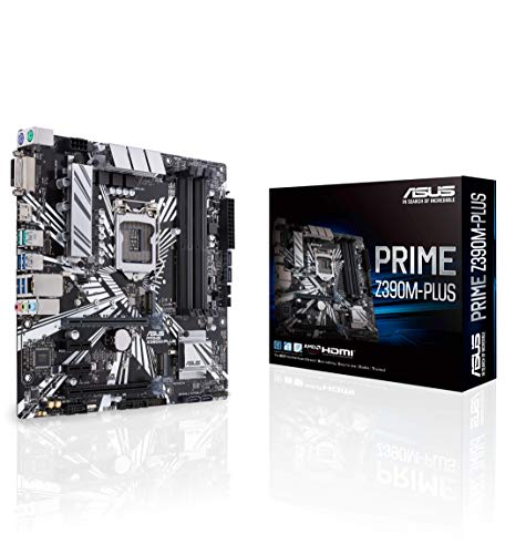 ASUS Prime Z390M-Plus Gaming Mainboard Socket 1151 (mATX, Intel Z390, 4x DDR4-geheugen, USB 3.1)