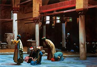 Prayer in the Mosque by Jean-Leon Gerome - 21