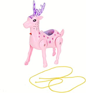 Sika Deer Toy, Deer Toy, Durable Deer Model Above 3 Years Old Children to Know Animals for Kids Children Early Cognition E...