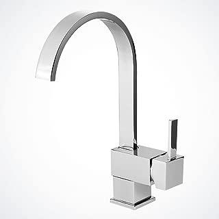 Yodel Modern Kitchen / Wet Bar Sink Faucet, Chrome Finish
