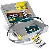 Bayerwald Uddeholm - Hoja de sierra de cinta (2240 x 6 x 0,5 x 6 mm, para todo tipo de maderas/cinta de sierra apta para Elektra Beckum, etc.