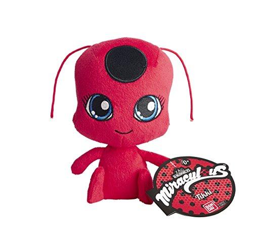Bandai– Miraculous Ladybug– Plüschtier 15cm– Tikki, das rote Kwami der Erschaffung– 39831