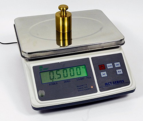 33lb x 0.001lb Digital Parts Counting Scale – Mid Counting Scale with Check-weighing Function – Inventory Scale – Coin…