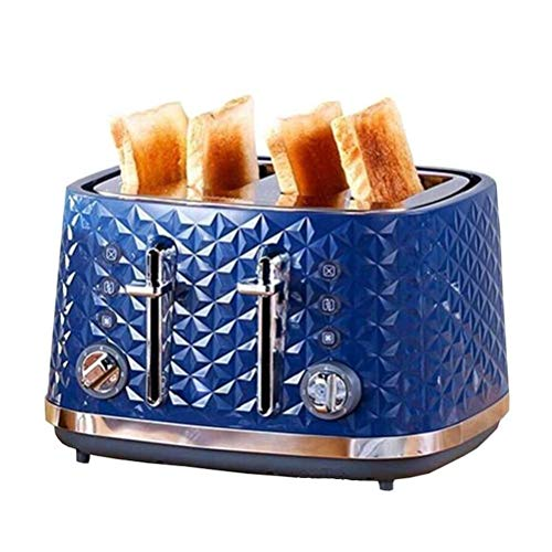 Lowest Prices! Toaster 4 Slice, Home Electric Bread Oven, 7 Browning Settings