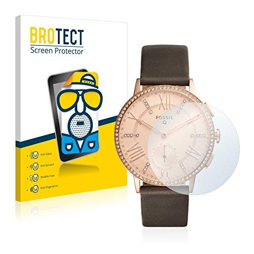 BROTECT 2X Entspiegelungs-Schutzfolie kompatibel mit Fossil Q Gazer Bildschirmschutz-Folie Matt, Anti-Reflex, Anti-Fingerprint