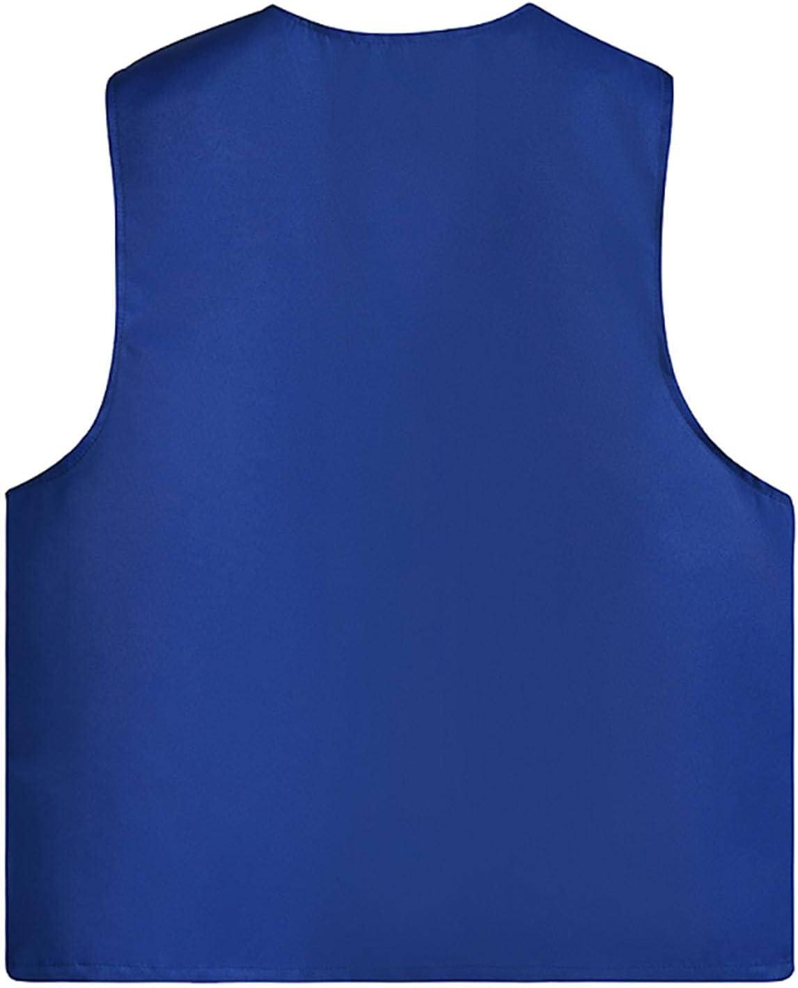 NC 2021 Men's Button Vest Orange Patch Pocket Boxer Vest Without Individual Packaging Outdoor Mountaineering Jacket 10 Colors V M025