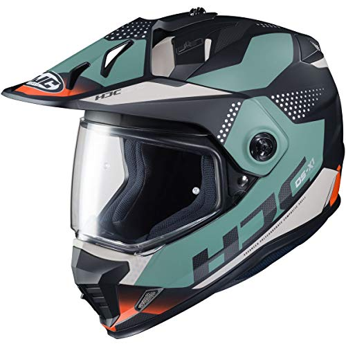 HJC Helmets DS-X1 Helmet - Tactic (Medium) (Teal/Black)
