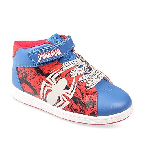 Spiderman Baskets Rouge Destockage Chaussea