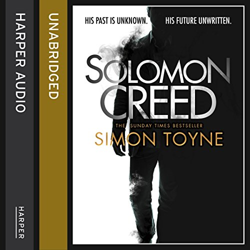 Solomon Creed audiobook cover art