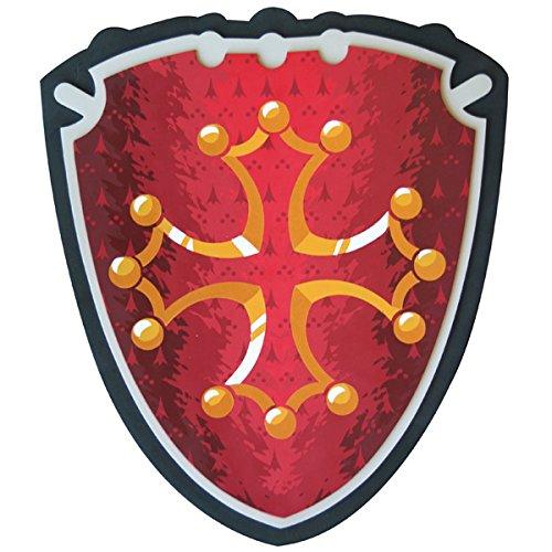 Le Coin des Enfants Le Coun des Enfants20324 Croix occitane Historique Shield Jouet (Taille Unique)