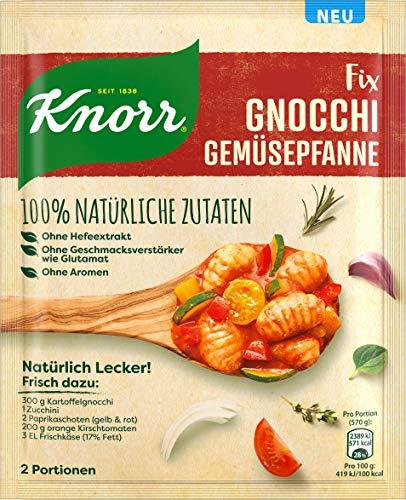 Knorr Natürlich Lecker Fix Gnocchi Gemüsepfanne aus 100% natürlichen Zutaten, 30 g