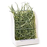 CalPalmy Hay Feeder for Rabbits, Guinea Pigs, and Chinchillas - Minimize Waste and Mess with 5 1/2' x 3' x 7 3/8' Hanging Alfalfa and Timothy Hay Dispenser