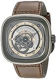 Seven Friday P2-1 - Reloj, Correa de Cuero Color Negro