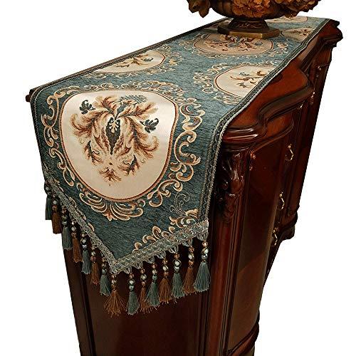 Xiao Jian tafelloper - American Country tafelkleedstrip decoratieve stof salontafel tafelvlag tv-kast handdoek luxe hotel beddoek tafelkleed