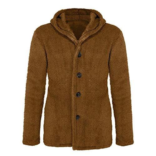 Fluffy fleece hoodies harige jas mannen imitatiebont jas trui mode casual rits dikke bont fleece capuchon jak fleece tops