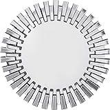 Kare Design Specchio da Parete, Poliuretano, 92x92x4,5cm
