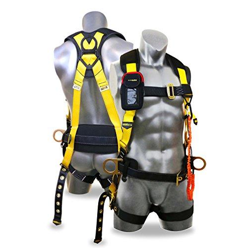 KwikSafety - Arnés de seguridad para todo el cuerpo con soporte ...