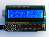 Adafruit 772 LCD Shield Kit 16x2 Character Display - Uses only