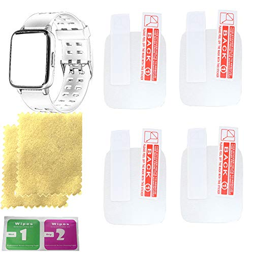 OCTelect letsfit smart watch screen protector for smart watch letsfit with 4PCS in one pack