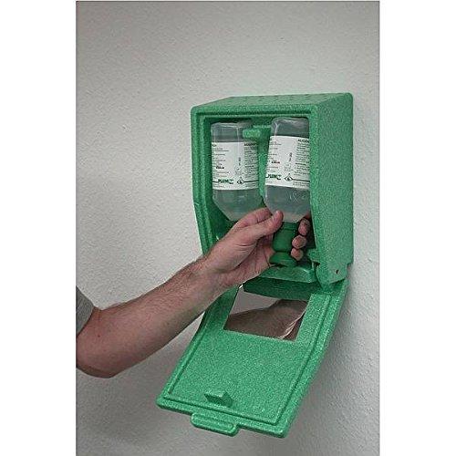 LEMAX® Augenspülkasten je 1 Flasche NaCl/Ph. Material: Hartschaum, staubdicht Natrium