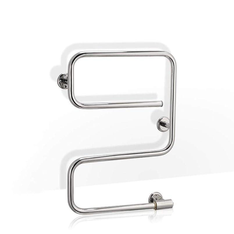 スピンブラストピア電気タオルウォーマーウォールは、バスルーム40Wの場合は、ステンレス鋼一定温度自動乾燥電気暖房タオルラック、マウント
