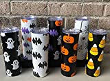 Tumbler & Water Glass For Halloween Vibe / Cups For Halloween Decoration (Pumpkin Cup)