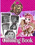 Ever After High Swirls Diagonals Dots Lines Waves Coloring Book: Ever After High An Adult Spirograph...