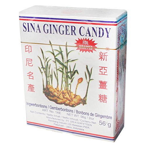 SINA Ingwer Bonbons 10x56g