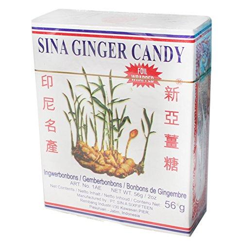 SINA Ingwer Bonbons 25x56g