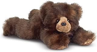 Bearington Snuggly Ben Plush Stuffed Animal Brown Grizzly Bear, 14