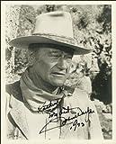 John Wayne Autogramm, glänzend Foto Print ca. Größe
