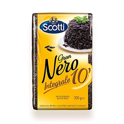 Riso Scotti - Gran Nero Integrale 10' - Riso Integrale Nero - 500 gr