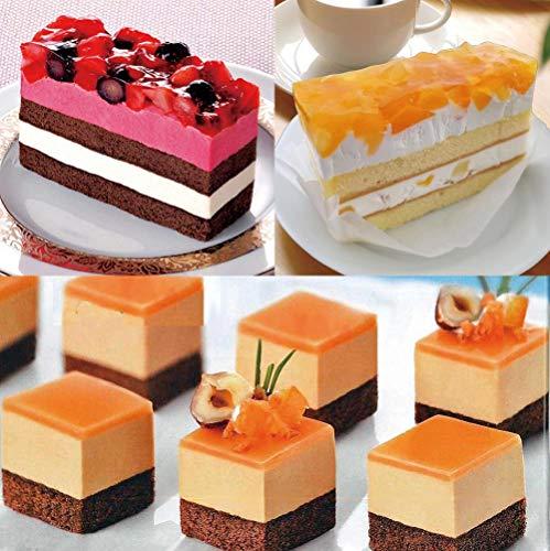 いちごとブルーベリーのケーキ りんごと桃のケーキ 塩キャラメルカット済ケーキ3種類のスイーツセット 1279g