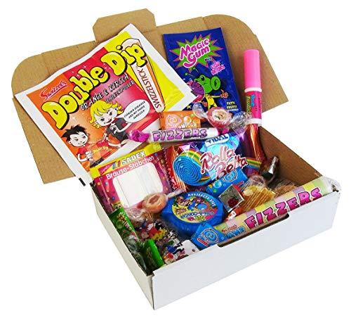 CAPTAIN PLAY | Retro Süßigkeiten Box | 10 verschiedene Nostalgie-Süßigkeiten aus unserer Kindheit