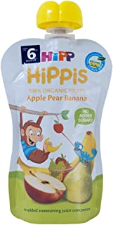 Hipp Organic Apple Pear Banana Pouch, 100g